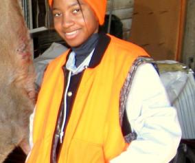 Chanelle Brown, 2008 Youth Deer Hunt