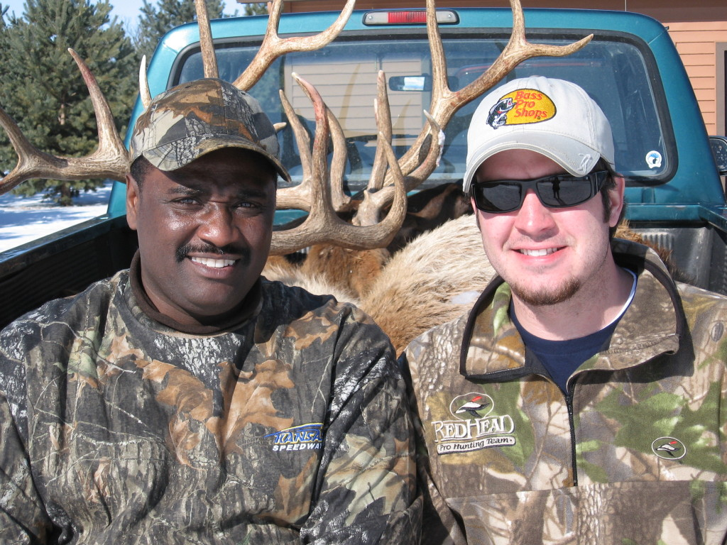 Wayne Hubbard and Martin Truex Jr.