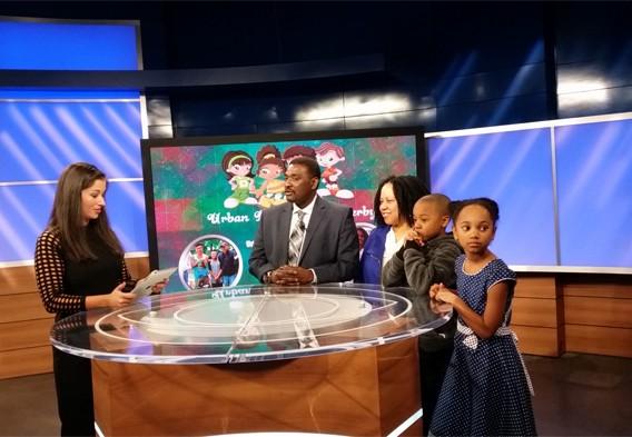 CBS46 Atlanta Plugged In Urban Kids Fishing Derby Atlanta 2016