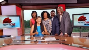 Yolanda Young Esq, Guest Host - Dr. Avis Jones-Deweever, Candice Price, Wayne Hubbard, Dr. Cleo Manago on TVOne's NewsOne Now.