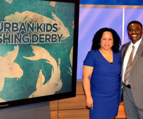 candice-price-wayne-hubbard-cbs46-atlanta-pluggedin-urban-kids-fishing-derby-atl